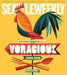 SW_cover_Blog.jpg 500×561 pixels #creature #seattle #weekly #cover #illustration #chicken #invisible #shadow