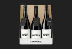 Le Naturel #spain #packaging #logroã±o #wine #label #moruba