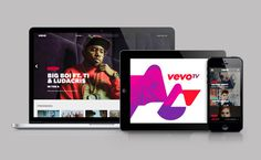 Vevo on Behance #web #branding
