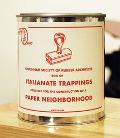 Paper Neighborhood #stamp