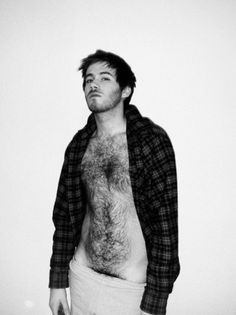 menino-levado #young #chest #hair #hairy #portrait #man