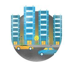 Rogue October 2014 on Behance #flat #building