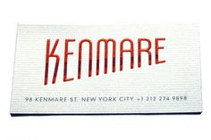 NYC's Coolest Business Cards-20 Of NYC's Coolest Business Cards #card #business