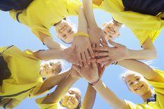 Google Image Result for http://prosportschick.com/wp content/uploads/2012/07/kids team sports.jpg #bright #color #teamwork