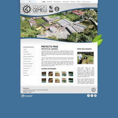 Portal Web Corporativo / Colegio Franciscano Agustin Gemelli Manizales #pereira #exusmultimedia #herduin #exus #design #black #education #webdesign #colombia #blue #web