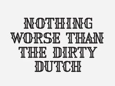 Dutch Mafia - Typography (mkn design - Michael Nÿkamp)