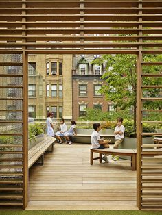 1960s Brutalist Building in Manhattan Transformed into a Vibrant Learning Environment 18
