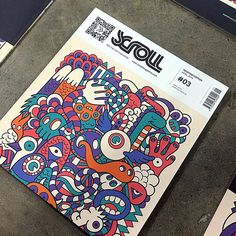 Scroll Magazine #Covers #Design #Illustration