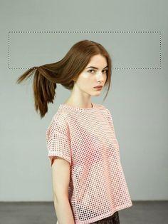PAWEŁ FABJAŃSKI for MELBA ERROR ISSUE #melba #woman #magazine #issue #fabjaåƒski #hair #photography #paweå #photoshop #error