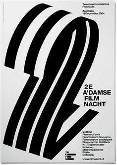 2AFN - Experimental Jetset #print #design #poster #grid #experimental jetset #film #black #2afn