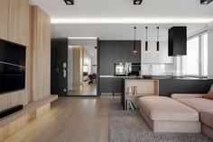 Krakow Apartment by Hi-Light Architects - InteriorZine
