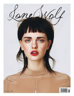 Lone Wolf//issue 6 #cover #editorial #magazine #typography