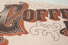 The Peoples Pennant - Coffee Break! #print #design #graphic #peoples #the #screen #break #pennant #coffee