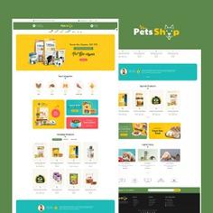 #Pets #Care & #Animal Shop - #Prestashop #Responsive #Theme #eCommerce #Website #Design #Template