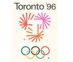 Toronto96 #canada #ontario #toronto #1996 #logo #olympics #canadian #96