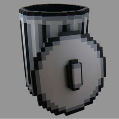 Pixel Trash Can #garbage #pixel #trash