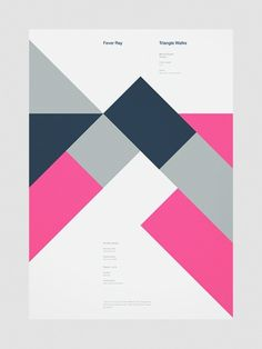 NoRabbitsNoHats. #typography #poster design #forms