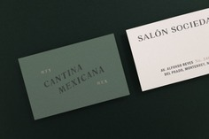Salon Sociedad Branding - Mindsparkle Mag In addition to the architecture project, Communal Studio developed the visual identity for Salón Sociedad which is a renovated hall/bar located inside the complex Sociedad Cuauhtémoc y Famosa, a club for Heineken Mexico's staff and associates. #packaging #identity #branding #design #color #photography #graphic #design #gallery #blog #project #mindsparkle #mag #beautiful #portfolio #designer