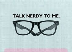 Talk Nerdy To Me. / constantine✖belias™ picture on VisualizeUs #glasses #design #graphic #art
