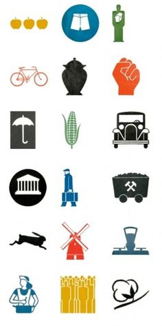 aesthetic interlude.: April 2009 #icon #isotype #graphic #design