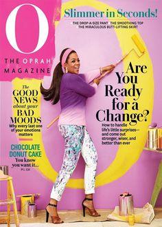 O, The Oprah Magazine #inspiration #cover #oprah #magazine #typography