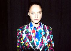 ANREALAGE LIMITED SHOW. | Lina Di Moda #fashion #colourful #pixels