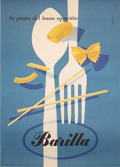 All sizes | Carboni Barilla Pasta | Flickr - Photo Sharing! #poster #italy #pasta
