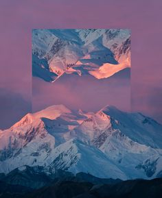 #graphic #gradient #mountain