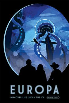 Europa - NASA poster