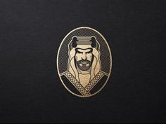 Sheikh Logo Concept #logo #portrait #sheikh #man #beard
