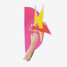Yoyoyo Acapulco - Brenneriveien #7inch #yoyoyo #acapulco #sleeve #lightening #collage #hand
