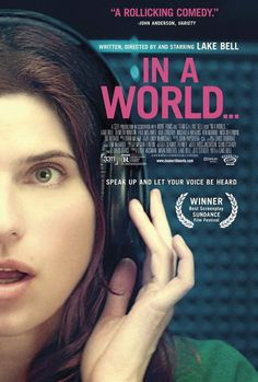 In a World… (2013) #design #graphic #poster
