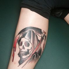 50 Grim Reaper Tattoo Designs
