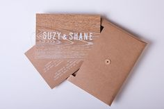 Suzy and Shane - SilentPartner — The Portfolio of Shane Loorham #invite #print #wedding #stationery