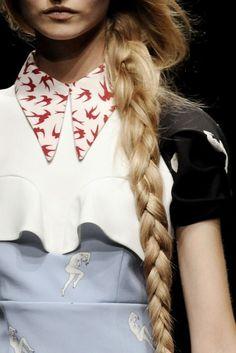 miu miu #fashion #birds #collar #swallow