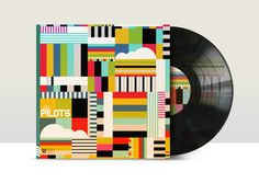 A new series of vinyl record cover designs by Neil Stevens #design #graphic