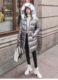 New Fashion Waterproof Glossy Down Parkas Womens Winter Jackets Warm B | Mohanify