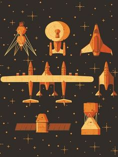 Fast Company — Space jam on the Behance Network #illustration #ship #space
