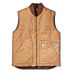 Carhartt WIP: Online Shop: Men: Carhartt X Uniform Experiment: Work Vest #carhartt #uniform #duck #vest