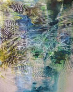 Chris Trueman | PICDIT #abstract #design #painting #art #colour