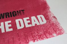 websitesarelovely: You've Got Red On You - Shaun of the Dead print