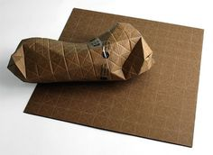 UPACKS - Universal Packaging System, Recyclable Corrugated Cardboard Sheet by Patrick Sung » Yanko Design #packaging #universal