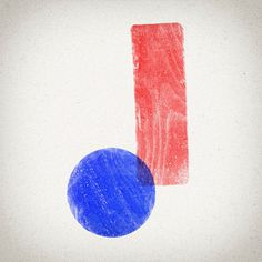 J #36daysoftype #j #blue #red #handmade #letters #font #design #typedesign #typographyinspired #welovetype #customtype #davidrico #barcelona