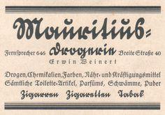 typography, vintage