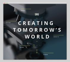 SRG International #website #layout #design #web