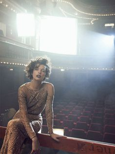 Milla Jovovich by Peter Lindbergh #fashion #photography