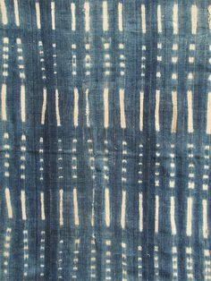 Indigo Arts Gallery | Art from Africa | Indigo Textiles from West Africa #african #indigo #denim #textile #vintage #art #blue