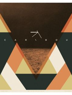 Paul Gardner Band Posters » ISO50 Blog – The Blog of Scott Hansen (Tycho / ISO50) #gardner #poster #caribou #band #paul