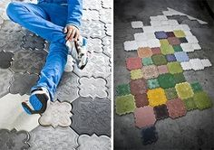 Ivanka concrete tiles #floors #design #flooring