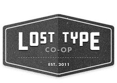 The Lost Type Co-op | Riley Cran & Tyler Galpin #black #galpin #muncie #type #tyler #lost #typography